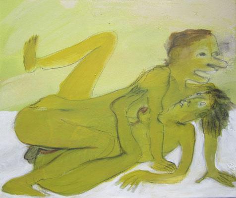 pleasure, 2019, 42 x 50 cm, acryl on canvas