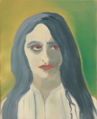Vanessa,  oil on canvas, 50 x 40 cm, 1997