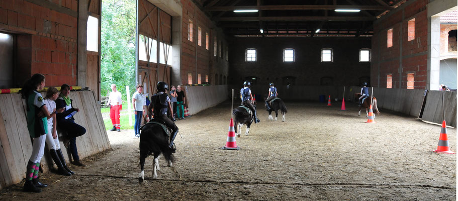 Mounted Games Indoorspiele
