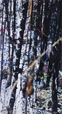 lichtung33, dreiteilig, 241 cm x 390 cm, 2008