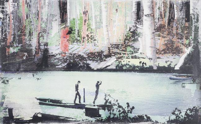 lichtung64, 85 cm x 138 cm, 2012