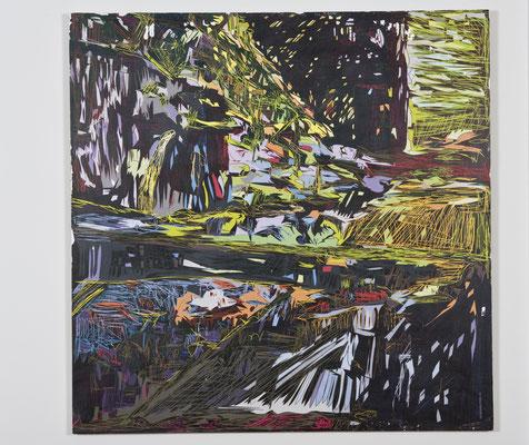i16, 85 cm x 135 cm, Décalacage auf Holz, 2009