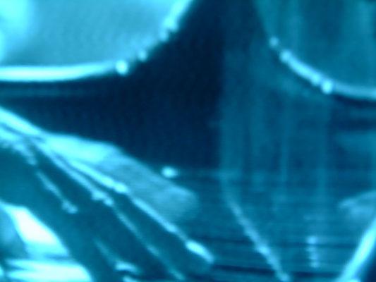 blaupause 11.9.2001 - 10.9.2002, Fotoprint auf Dibond, 60 cm x 45 cm