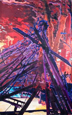 lichtung14, 205 cm x 130 cm, 2008