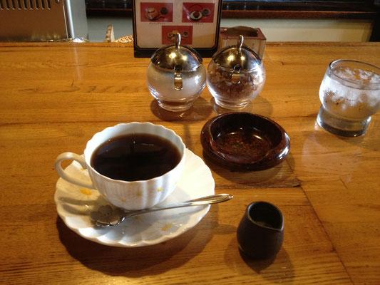 亀戸の侍のコーヒー