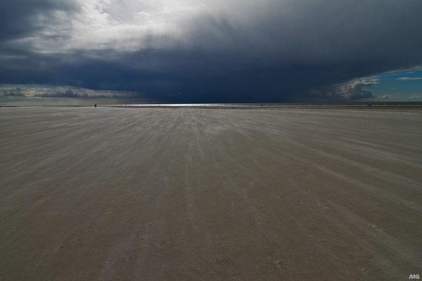 Sandstrand bei Sankt Peter-Ording