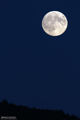 Mondaufgang am 27.09.2015