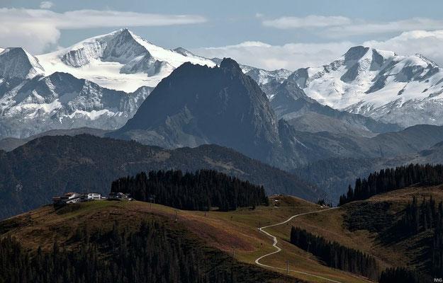 Blick auf die Venedigergruppe (Österreich)