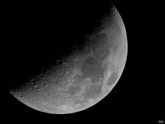 Mond am 22.03.2010