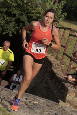 Mélanie DOUTART, qui remportera le challenge féminin.