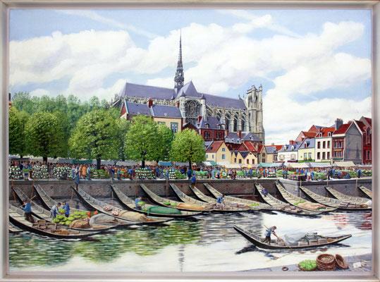 Le marché sur l'eau d'Amiens