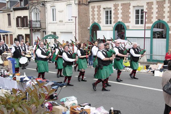 - Le Fianna Phadraig Pipe Band de Manchester