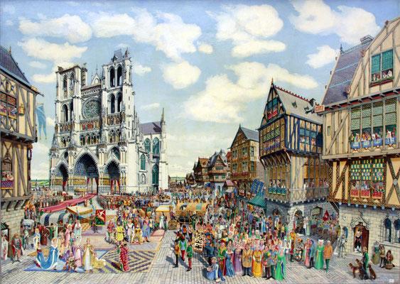 Procession solennelle à la cathédrale