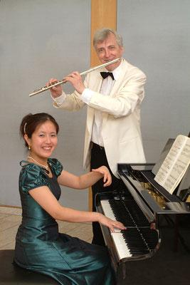 Duo Klaus-Peter Riemer(Querflöte), Miyuki Brummer(Klavier)  デュオ クラウス ペーター・リーマー(フルート)&ブルマー美由紀(ピアノ)