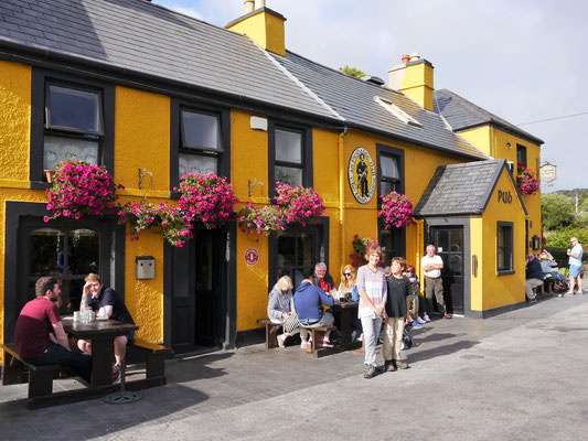 Pub in Caherdaniel (Ring of Kerry).
