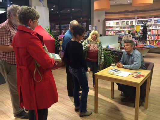 Bei Buch Greuter in Radolfzell im April 2014.