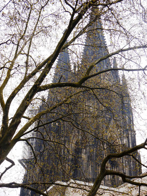 Köln ist ein weiterer Schauplatz des Romans. Ein harter Kontrast zur trügerischen See-Idylle.