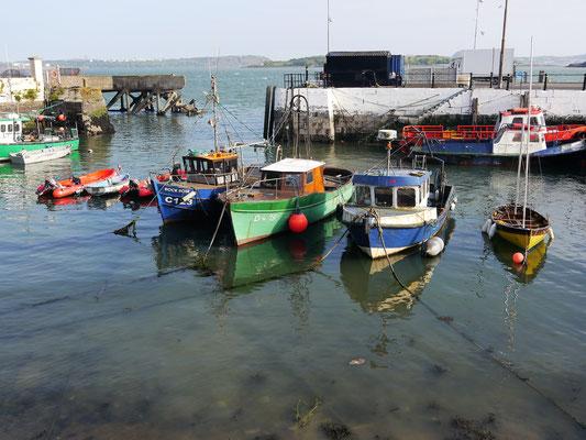 Hafen in Cobh.