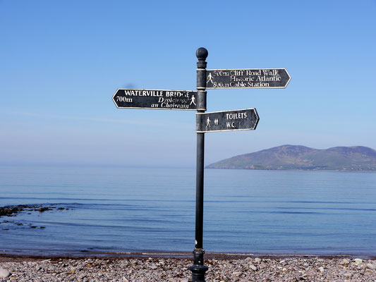 Zurück auf der Iveragh Peninsula in Waterville, einem herrlichen Städtchen direkt am Atlantik.