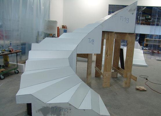 Staircase Prof. Kieferle Stuttgart / Germany