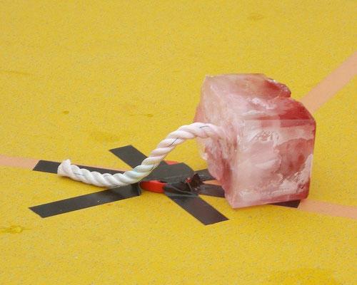 Eisstockschießen - das war mein 2. Versuch
