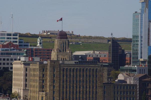 Zitadelle mit Turmuhr