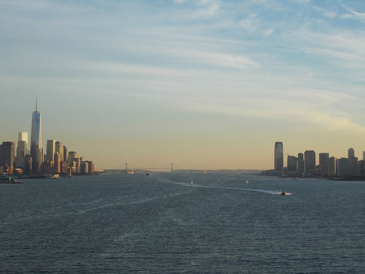 links: New York - rechts: New Jersey
