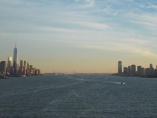 links: New York - rechts: New Jersey