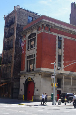 Feuerwehrstation aus Ghostbusters