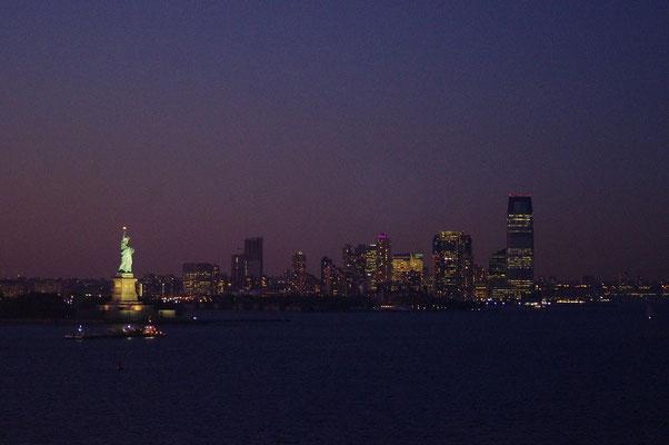 Blick auf New Jersey
