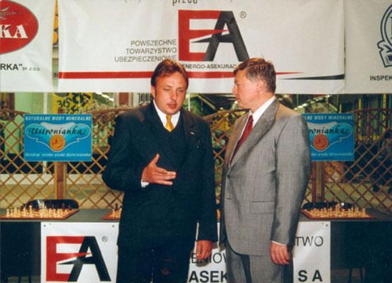 Robert Fiszer i Anatolij Karpow