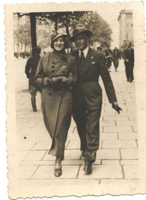 rodzice - Antonina i Bronisław