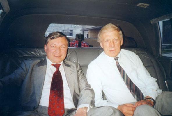 Anatolij Karpow i Jacek Żemantowski