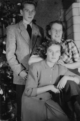 z mamą Antoniną i siostrą Basią