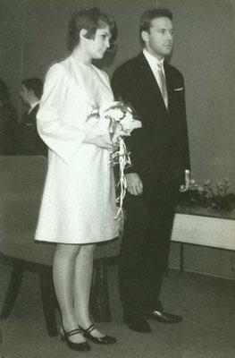 na ślubnym kobiercu
