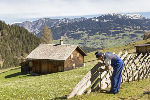 Gauertal im Frühling (c)  Andreas Haller -  Montafon Tourismus GmbH