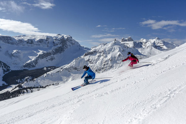 Skifahren am Golm (c) Stefan Kothner - Montafon Tourismus GmbH
