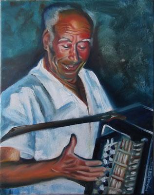 """Victor"", oil, canvas, 30x40cm, 2014"