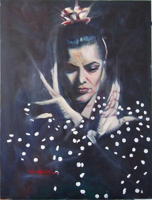 """""""The Dancing Icon"""", oil, board, 60x80cm, 2014"""
