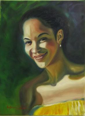 """""""Ali"""", oil, canvas, 30x40cm, 2013"""