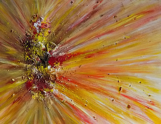 Explosion  -abstrakt-