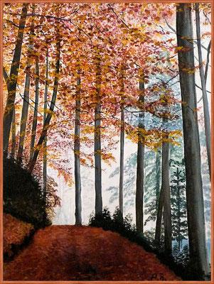 Herbstwald -nach meinem Foto-