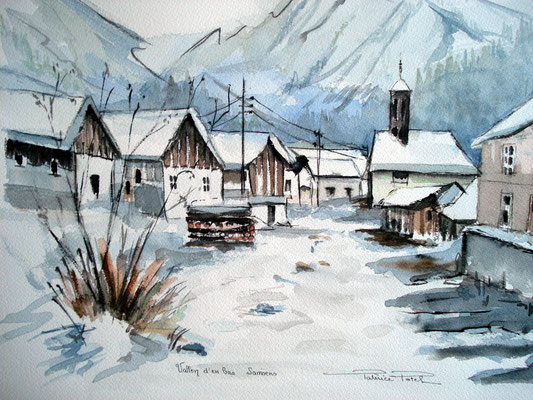 Village d'en bas Samoens