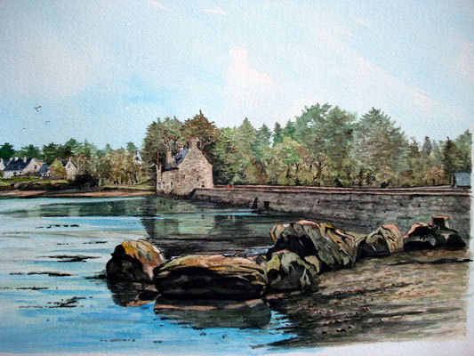 Moulin de mer Morbihan