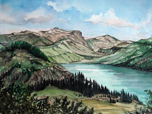Lac de Roselend Savoie