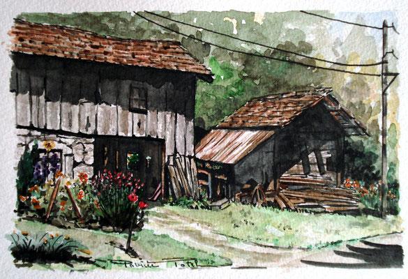 Grenier sur la route des Allamands Samoens