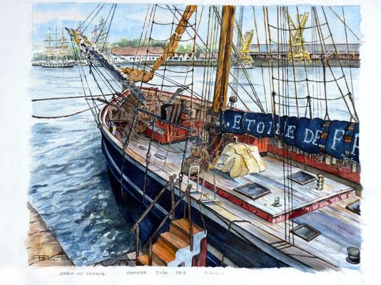Etoile de France , Armada Rouen 2013