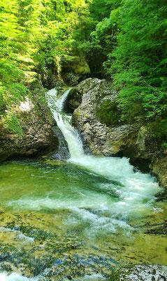 Wasserfall am Weg zur Blaa-Alm