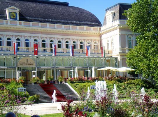 Zentrum Bad Ischl-Theater-u.Kongresshaus-8 Gehmin. vom Appartement Miramonte entfernt
