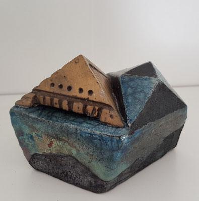 céramique Raku et bronze